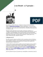 Modernismo No Brasil 2fase Prosa e Poesia