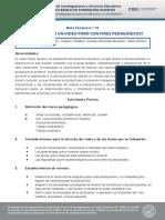 Nota técnica n.º 19 - ¿Cómo realizar un video foro con fines pedagógicos_.pdf