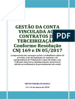 ELO Conta Vinculada 15 e 16-03-2018 APOSTILA