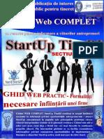 PLIANT 1 Net@StartUP Formalități Necesare Înființării FIRME StartUp TineRI ADT 2018