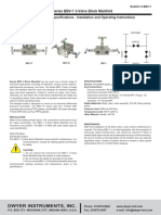 Dwyer - BBV-1 - Spec Sheet