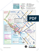 2018 LA Marathon street closures map