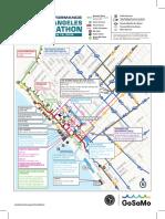 2018 LA Marathon street closures map