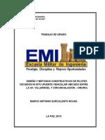 DISEÑO Y MÉTODOS CONSTRUCTIVOS DE PILOTES VACIADOS IN SITU (PUENTE VEHICULAR UBICADO ENTRE LA AV. VILLARROEL Y CIRCUNVALA~1.pdf