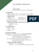 Desarrollo de Tesis y Formatos