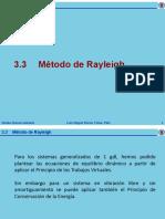 3.3 Metodo de Rayleigh