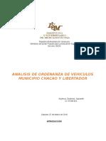 ANALISIS DE ORDENANZA DE VEHICULOS.doc