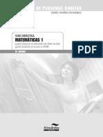 Guia Didàctica i Solucionari Matemáticas I