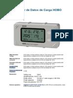 Registrador de Datos de Carga HOBO Plug