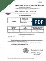 1.7 - Certificado Internacional de Arqueação