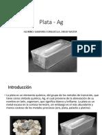 Plata - Ag