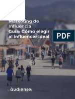 Guía - Marketing de Influencia - Elige Al Influencer Ideal