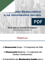 A Qustão Democrática e Os Movimentos Sociais