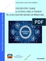 Step-By-Step Guide Building & Deploying  a Private Blockchain Network on Windows