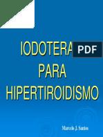 Iodoterapia Para Hipertireoidismo