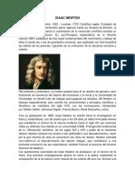 Biografia de Isaac Newton Quimica