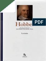 Hernandez Arias, José Rafael - Estudio Introductorio Al Vol. Hobbes de La Colección Grandes Pensadores de Gredos