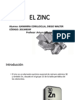 Zinc - Zn