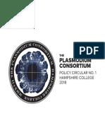Plasmodium Symposium Circular #1