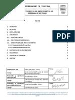 PGDT-013 ProcedimientodeMantenimientodeHardwareySoftware 2