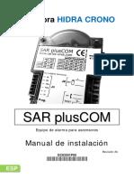DC83501P00 - SARplusCom Manual Instalacion - r2B - Es - DT0450901