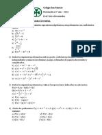Trabajo Practico N 8 Revision Polinomios