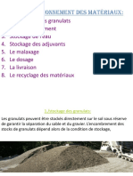 ORG - Approv Stockage Materiaux