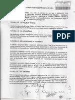 Acordo Coletivo 2017 entre Sintraep e EMDUR