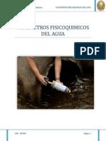 Parametros Fisicoquimicos Del Agua