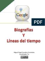 Biografia y Linea Deltiempo Con Googlemaps