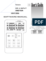 Software Manual HH1384