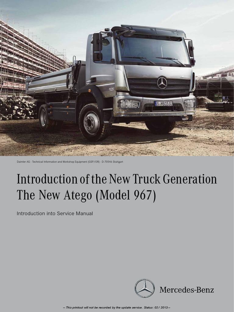 mercedes atego pdf service manual manual transmission rh scribd com Ile Mercedes MA Atego Ladownosci Mercedes Atego Serial Number