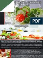 Higiene y Manipulación de Los Alimentos