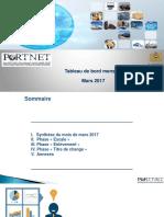 Portnet-tableau de Bord Mars 2017