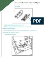 RTA  Renault Laguna Contacteurs lève vitres électriques.docx
