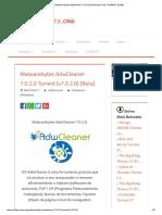 [ET]Malwarebytes AdwCleaner 7.0.2