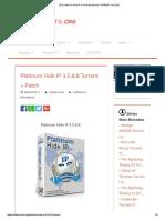[ET]Platinum Hide IP 3.5.8.8 [Download TORRENTv3.5.8