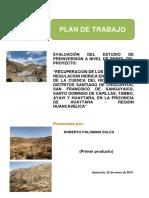1. Plan de Trabajo Centro RIO ICA