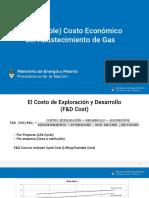 El Costo Economico Del Abastecimiento de Gas-Sureda