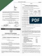 Acuerdo Gubernativo No. 8-2018 (Reformas Al Arancel Del Registro Mercantil) GUATEMALA