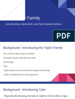 family plan presentation