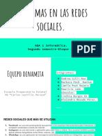 Problemas en Las Redes Sociales