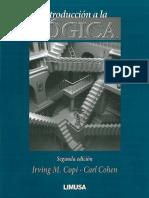[Spanish Edition] Irving M. Copi, Carl Cohen - Introduccion a la logica _ Introduction to Logic (2011, LIMUSA).pdf