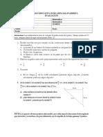 Prueba Sexto (Interpretacion de Fracciones)