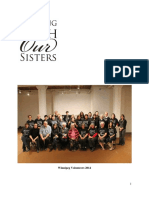 Walking With Our Sisters, Winnipeg 2014