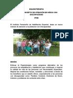 La Equinoterapia Revista