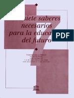 Edgar Morin - Los siete saberes necesarios para la educación del futuro.pdf