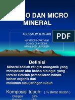 Makro Dan Mikro Mineral