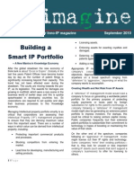 Imagine September- Building a Smart IP Portfolio