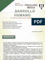 Desarrollo Humano ( Diapositivas de Monografia 1) Psicologia Medica